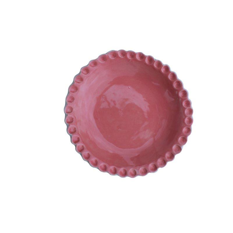 curves pink bowl