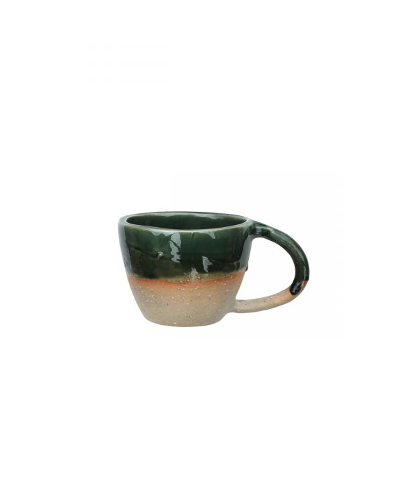 Curves mug - leaf